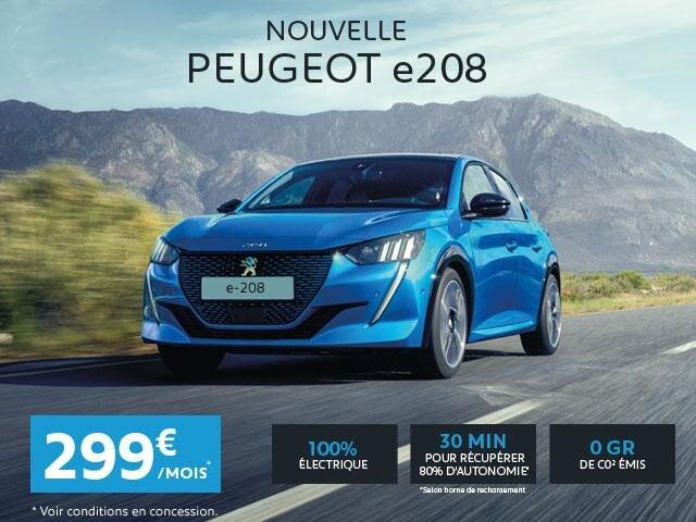 Nouvelle Peugeot e208