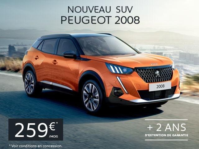 Nouveau SUV Peugeot 2008