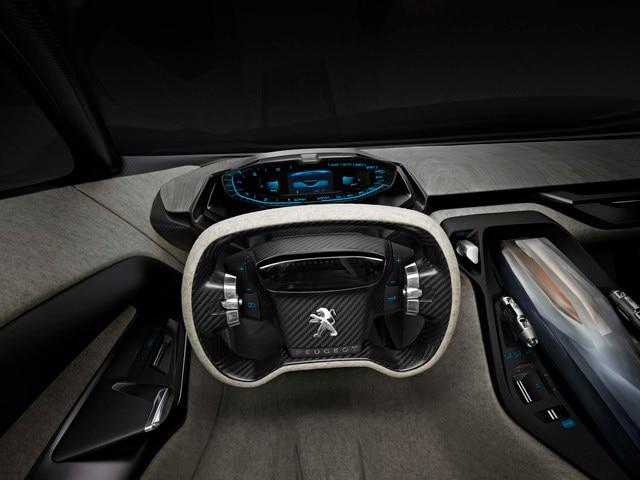 Design Peugeot Onyx - Le volant du Concept car
