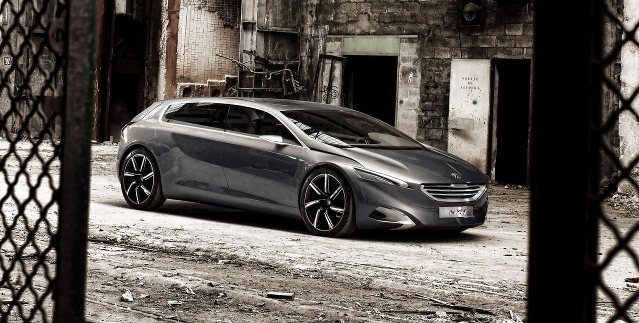 Peugeot HX1 - Découvrez le Concept car HX1