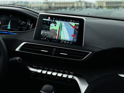 Services connectés Peugeot - Navigation 3D connectée