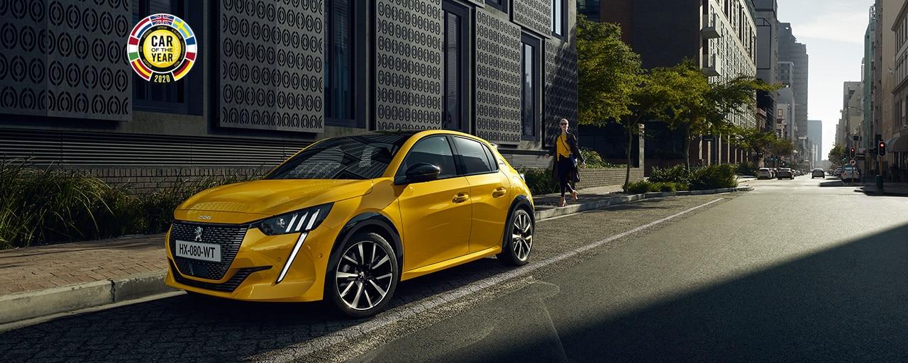 NOUVELLE PEUGEOT 208 – Nouvelle voiture citadine avec face avant sportive