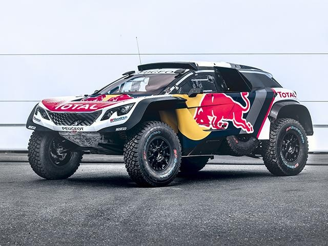 Peugeot Dakar - 3008DKR Maxi 01