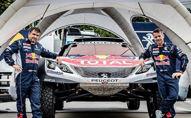 Peugeot Dakar - Loeb & Elena