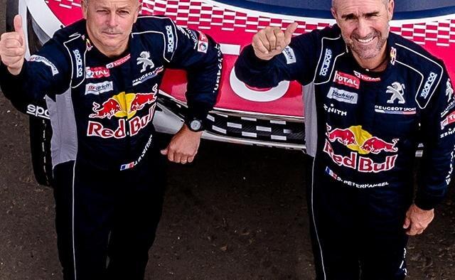 Peugeot Dakar - Peterhansel & Cottret
