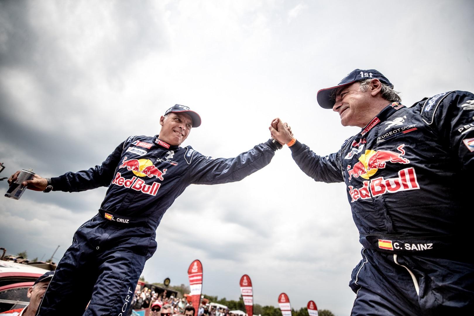 Dakar 2018 Team Peugeot Total - Carlos Sainz
