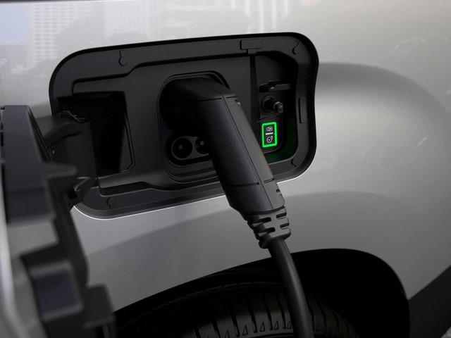 Nouveau PEUGEOT e-PARTNER – trappe de recharge