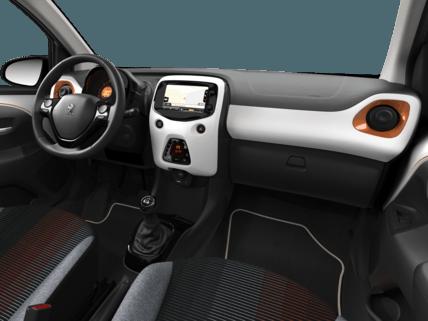 Peugeot 108 Top Roland Garros - intérieur voiture
