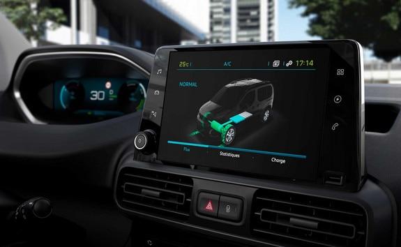 Nouveau PEUGEOT e-PARTNER i-Cockpit 100% numérique