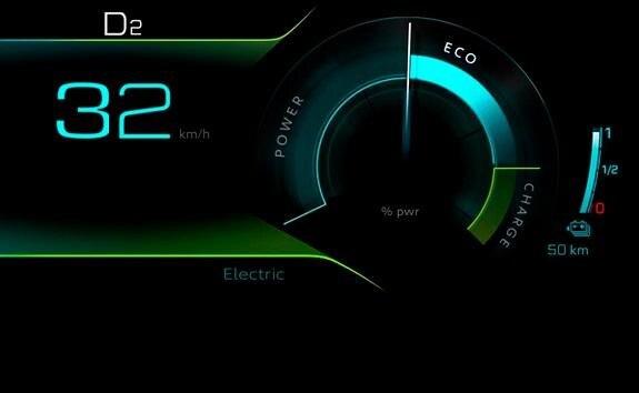 SUV PEUGEOT 3008 HYBRID4 - Mode Electric