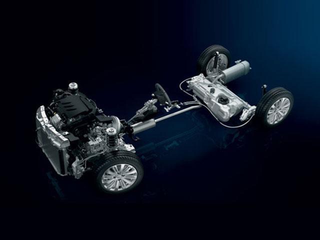 Liaisons au sol - Voiture compacte Peugeot 208 5 portes