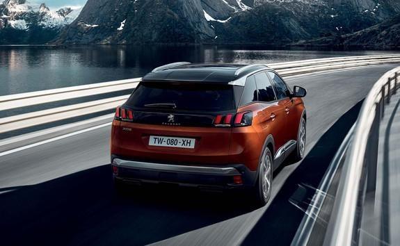 Peugeot 3008 panneaux de vitesse