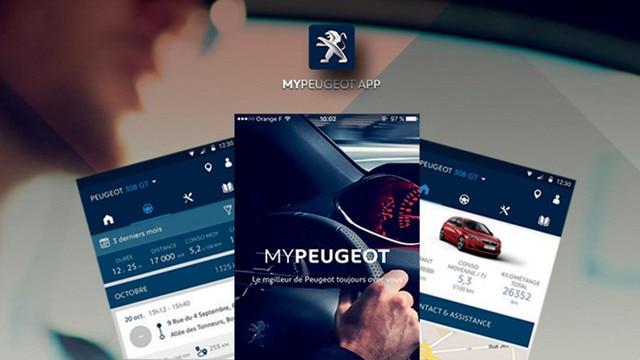 Application MyPeugeot App – Voiture compacte Peugeot 208 5 portes