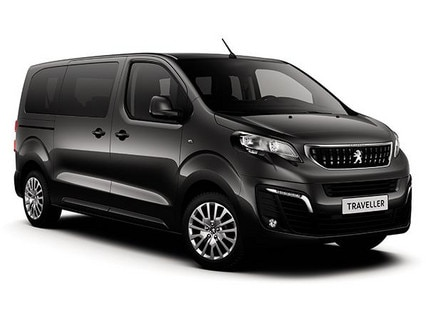 Peugeot vehicle dedicated to passenger transport
