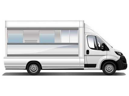 Retail vehicle for bakers and butchers, food trucks…