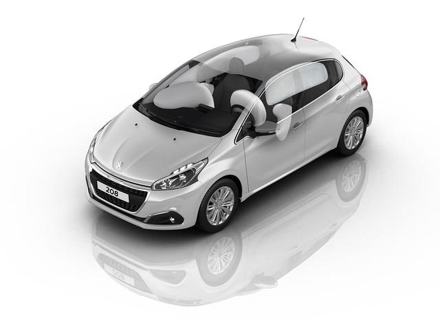6 airbags de série - Voiture compacte Peugeot 208