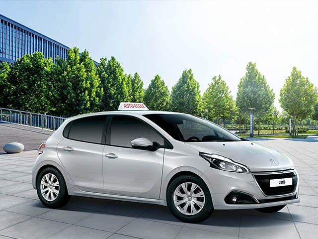 Peugeot driving school car