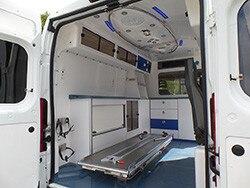Peugeot ambulance vehicle - Interior
