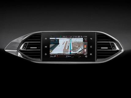Nouvelle PEUGEOT 308 GT Line - Écran tactile - Navigation 3D