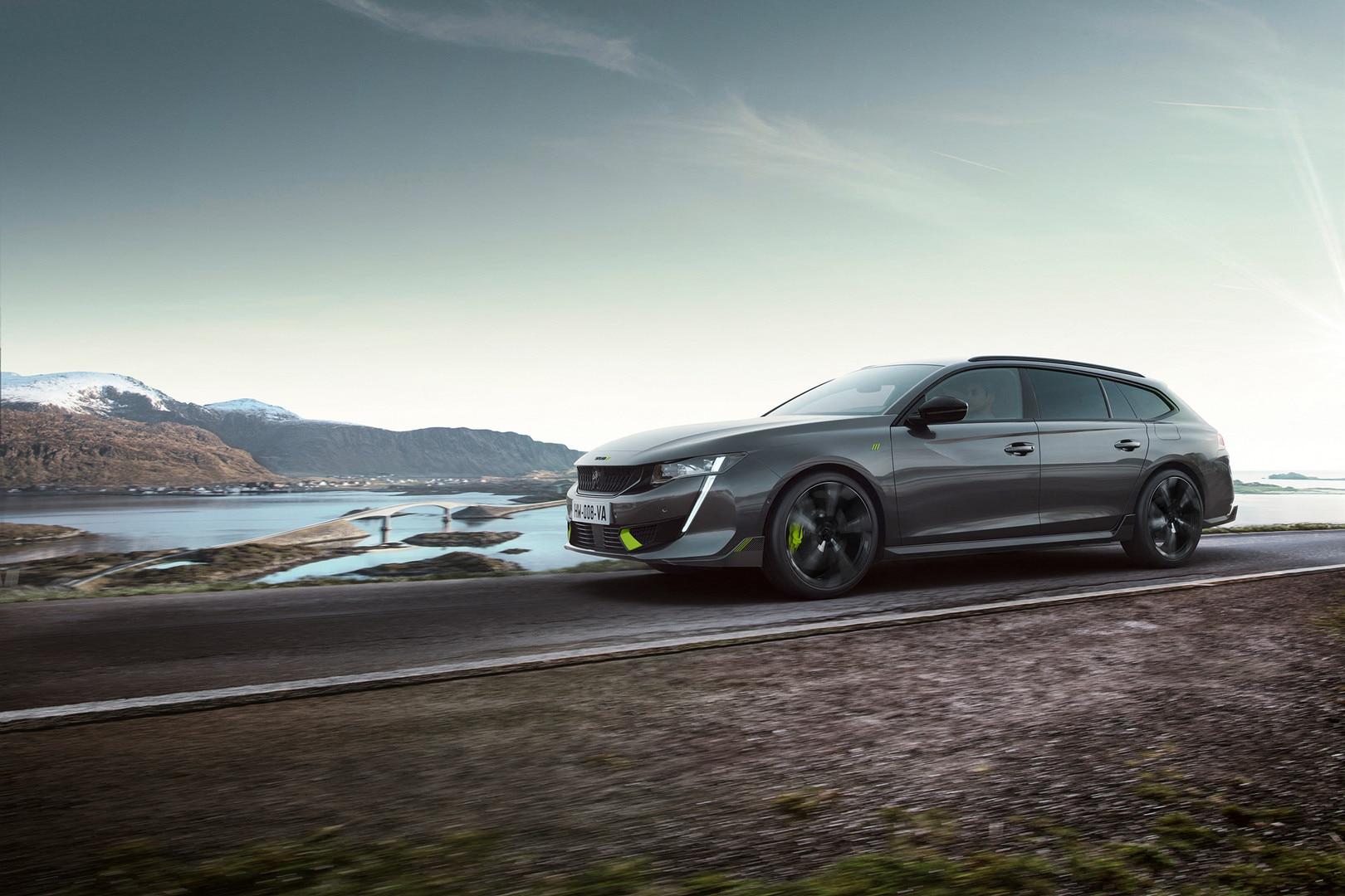 Nouveau break hybride haute-performance 508 SW PEUGEOT SPORT ENGINEERED