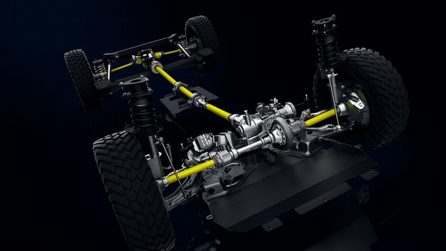 PEUGEOT RIFTER 4x4 Concept – Transmission 4x4