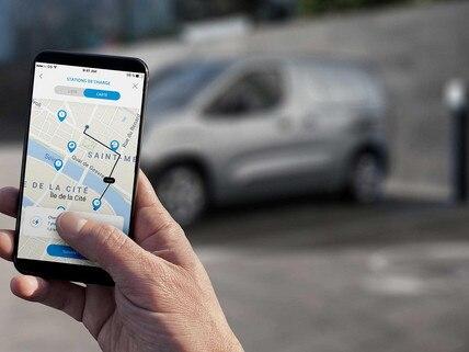 Nouveau PEUGEOT e-PARTNER - accès à MyPeugeot sur mobile