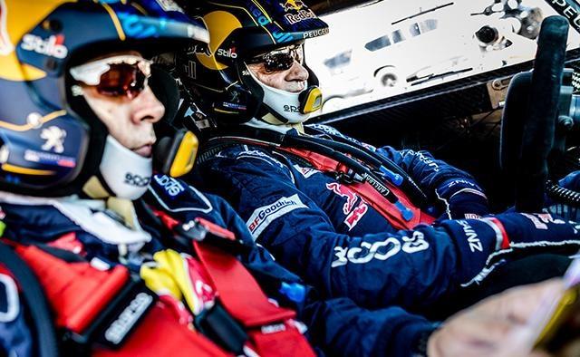 Peugeot Dakar - Sainz & Cruz