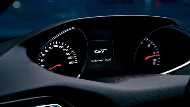 NOUVELLE PEUGEOT 308 GT – Combiné message d'accueil GT