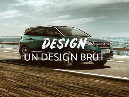 Peugeot Dakar - Design