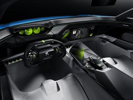 Peugeot Instinct Concept - Peugeot Responsive i-Cockpit - Mode Drive Boost
