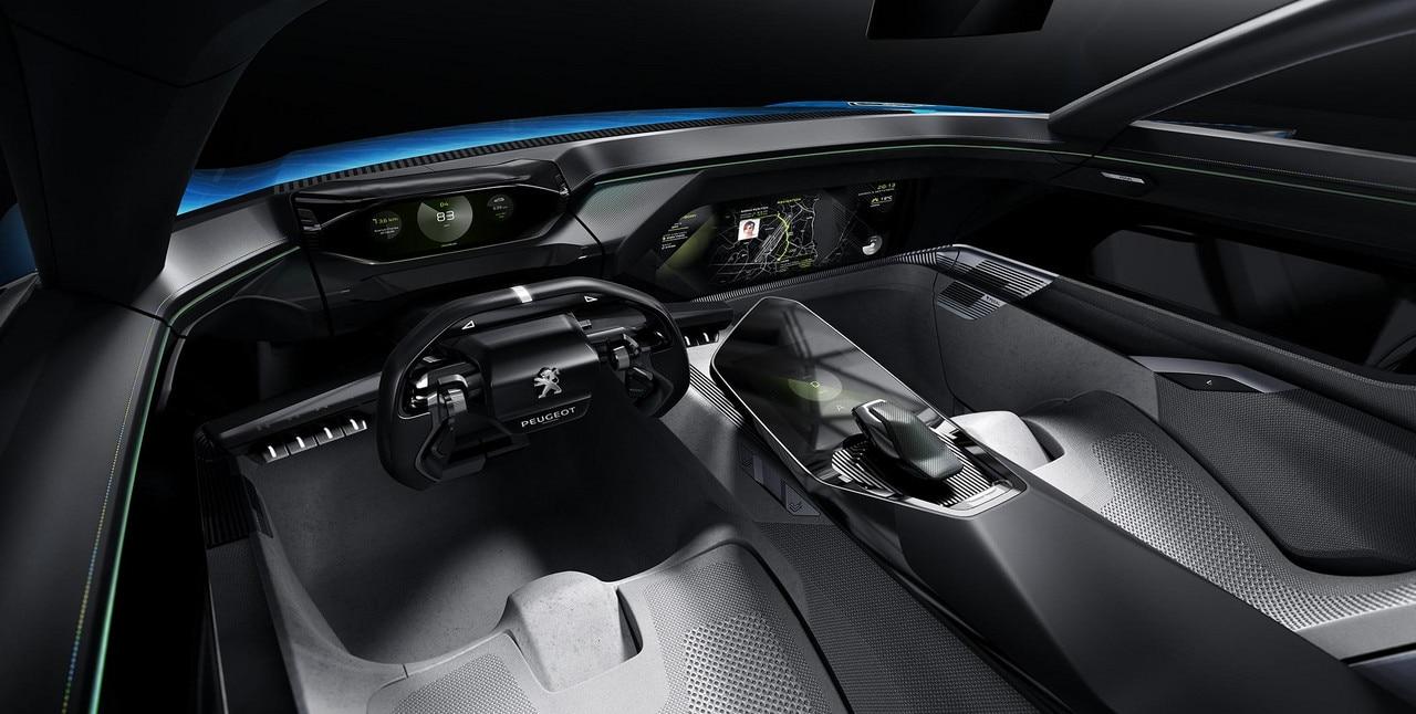 Peugeot Instinct Concept - Peugeot Responsive i-Cockpit - Mode Drive Relax