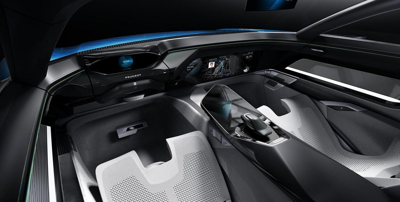 Peugeot Instinct Concept - Peugeot Responsive i-Cockpit - Mode Autonome Relax