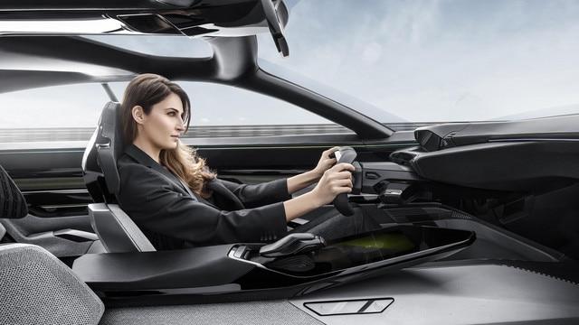 Peugeot Instinct Concept - Peugeot Responsive i-Cockpit - Conduite mode Drive