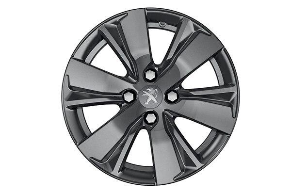 SUV PEUGEOT 2008 : Jante aluminium 16'' HYDRE – Gris Dilium brillant