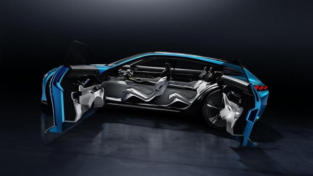 Peugeot Instinct Concept - Peugeot Responsive i-Cockpit - Vue latérale mode drive