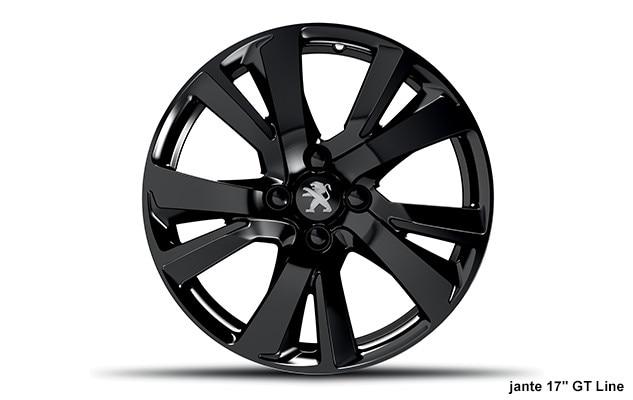 SUV PEUGEOT 2008 : Jante aluminium 17 pouces ERIDAN – Full Black