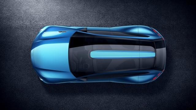 Peugeot Instinct Concept - Le shooting brake by Peugeot - Vue de dessus