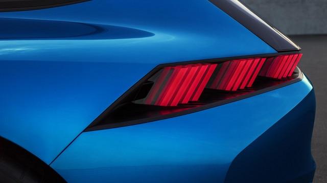 Peugeot Instinct Concept - Le shooting brake by Peugeot - Détail optique arrière
