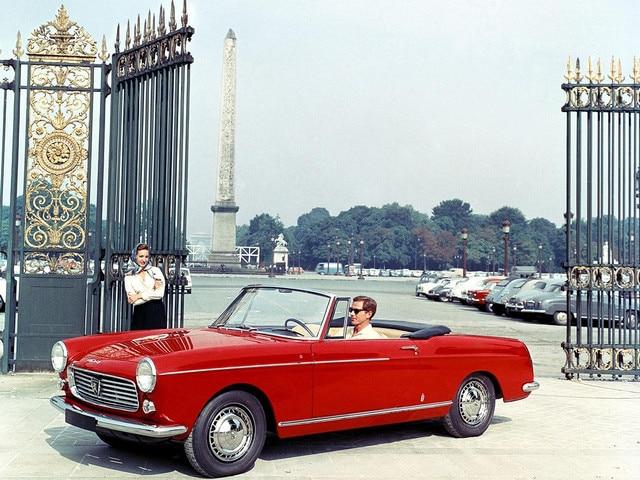 L'automobile - Peugeot 404 Cabriolet