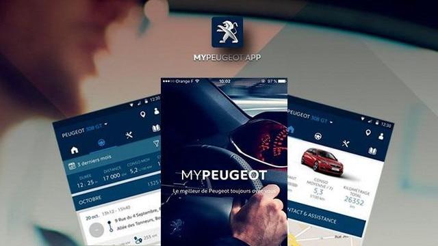 SUV PEUGEOT 2008 : connectivité et application MyPeugeot
