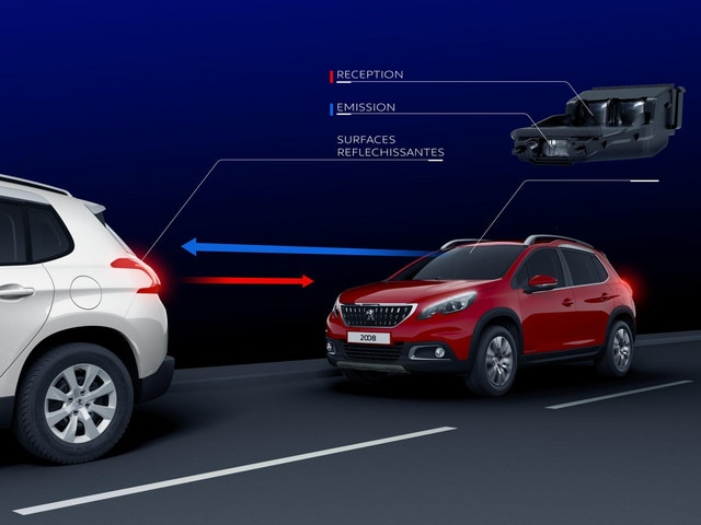 SUV PEUGEOT 2008 : Active City Brake