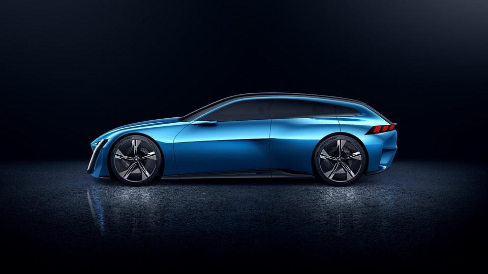 Peugeot Instinct Concept - Le shooting brake by Peugeot - Aérodynamique 2