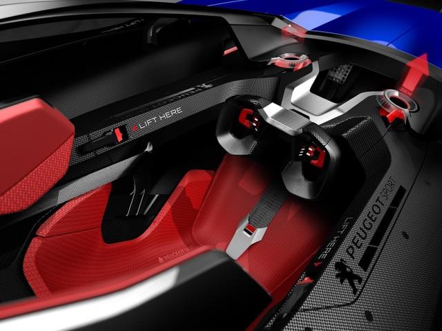 PEUGEOT L500 R HYbrid - Peugeot i-Cockpit