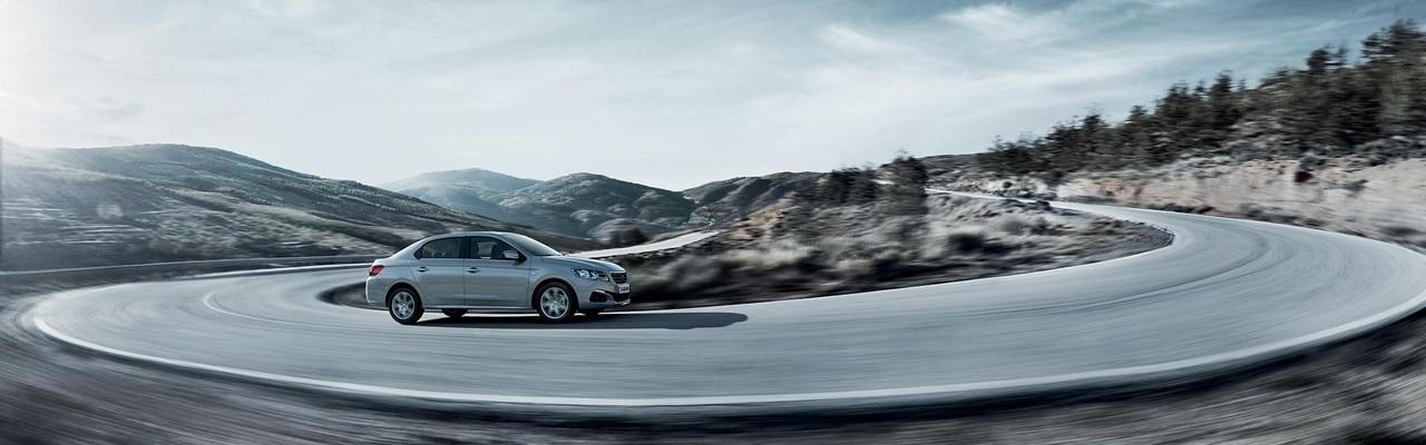 Nouvelle Peugeot 301 : Confort et tenue de route