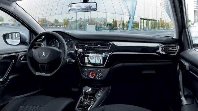 Nouvelle Peugeot 301 : Habitacle confortable et qualitatif