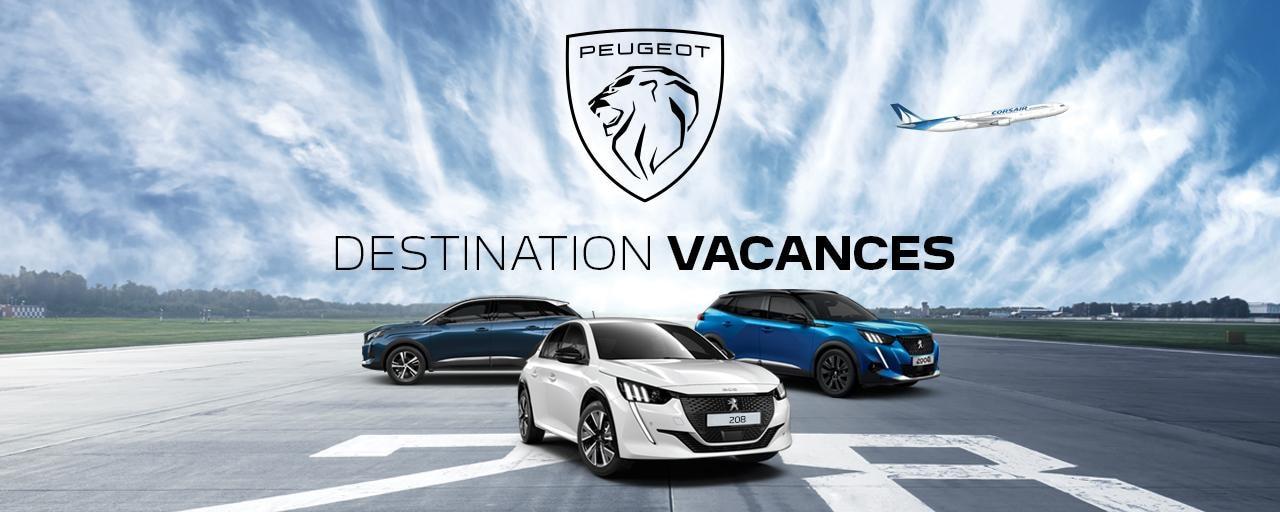Peugeot vacances