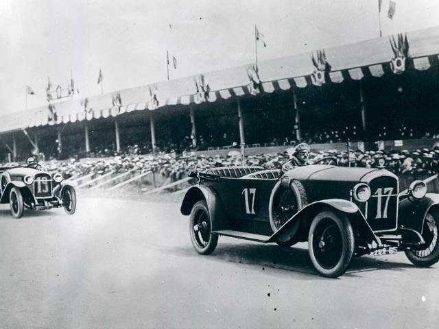 Peugeot Sport – la L76 au Grand Prix de France en 1912