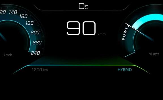 SUV PEUGEOT 3008 HYBRID4: mode hybride