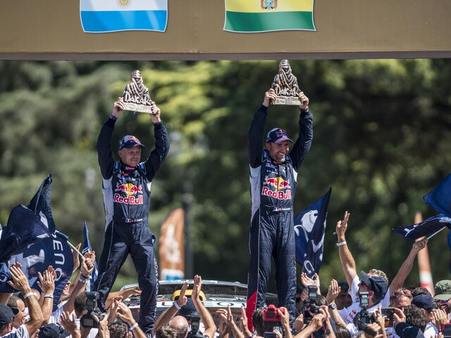 Peugeot Sport - Victoire Dakar 2016 Peugeot Peterhansel - Cottret