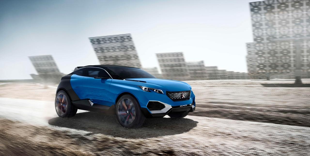 Peugeot Quartz - Découvrez le Concept car Quartz